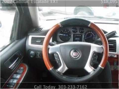 2007 cadillac escalade ext used cars lakewood co youtube for Happy motors inc lakewood co