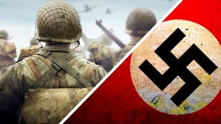 THE REAL REASON WHY THERE ARE NO SWASTIKA SYMBOLS IN CALL OF DUTY WW2!