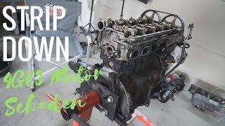 4G63 Strip Down! (Mitsubishi Eclipse D20) - Welchen Schaden hat der Motor?