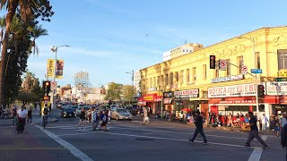 Central America Town in Los Angeles California