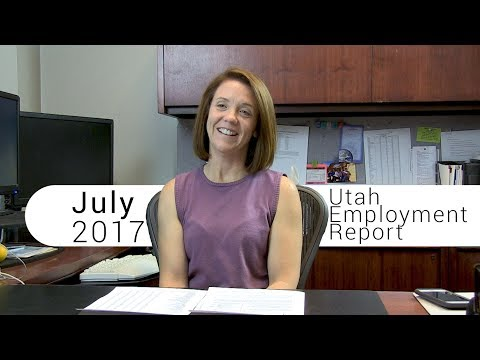 Utah Employment Report July 2017
