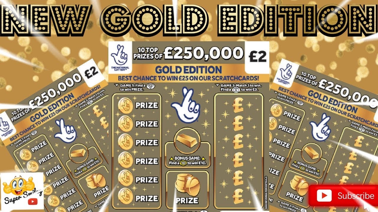 🤎🤎 Gold Edition £2 Scratch Cards 🤎🤎