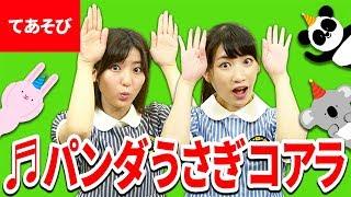 【♪うた】パンダうさぎコアラ【手あそび・こどものうた】Japanese Children's Song thumbnail
