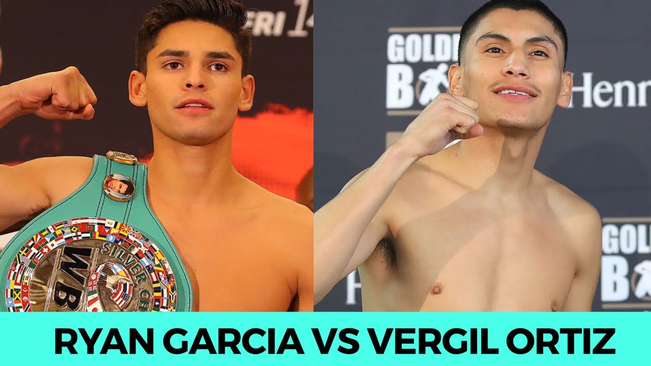 """VERGIL ORTIZ ON FIGHTING RYAN GARCIA """"WE BOTH WANT 2 BE THE BEST, IF WE FIGHT WE'LL KEEP IT FRIENDLY"""