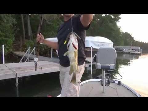 Wacky Worms for Rock Bass Fishing