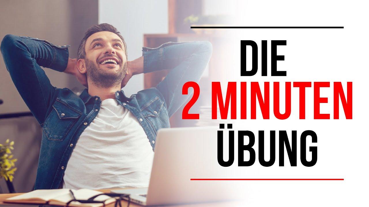 So wirst du GLÜCKLICHER ❗(psychologischer Effekt der Übung AUSFÜHRLICH erklärt) | 2-Minuten-Übung |