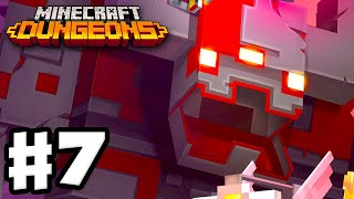Minecraft Dungeons - Gameplay Walkthrough Part 7 - Fiery Forge!