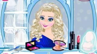 Мультик игра Принцессы Диснея: День свадьбы Эльзы (Ice Princess Wedding Day)