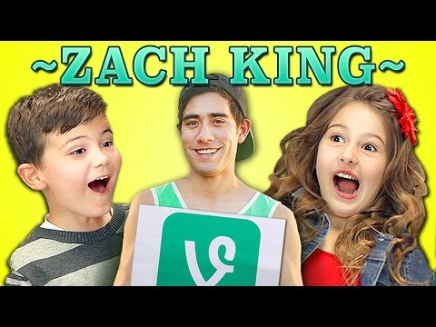 KIDS REACT TO ZACH KING VINES