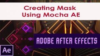 Maske oluşturma Mocha AE | Alfa Mat & Verme Şekli Veri araçları Kullanarak