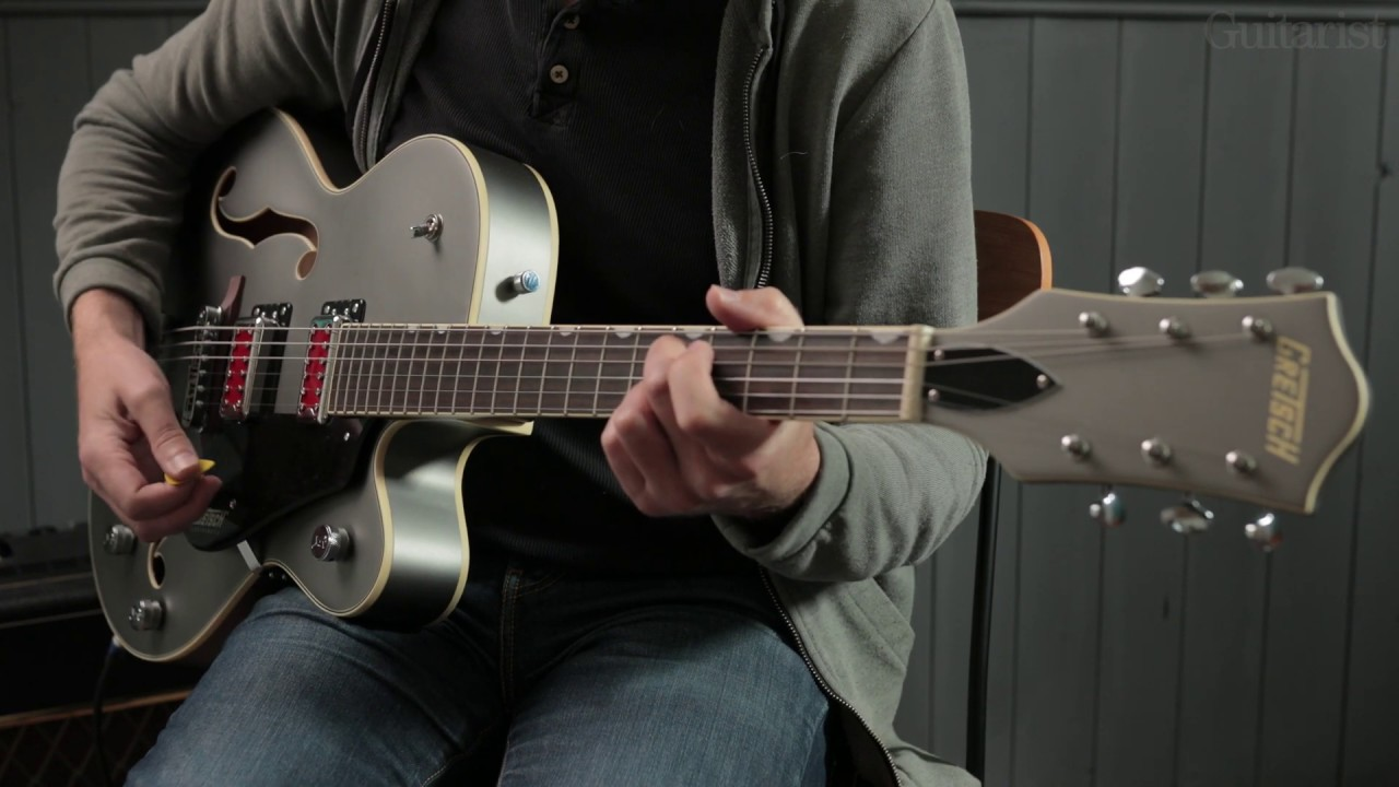 "Gretsch G5410T Electromatic ""Rat Rod"" Demo"