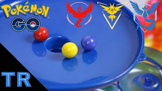 Pokémon GO Marble Race: Which Team is Best? | Toy Racing