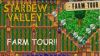 Welcome To My Farm Tour! - Stardew Valley