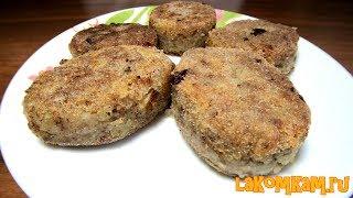 Картофельные котлеты с гречкой (затраты 20 рублей). Вегетарианский рецепт
