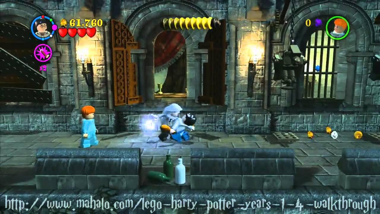 Lego Harry Potter Walkthrough Year Three Mischief Managed Part 2 Youtube