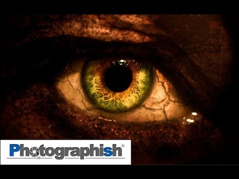 MONSTER AUGE -Photoshop Tutorial von Philipp Hebold- - YouTube