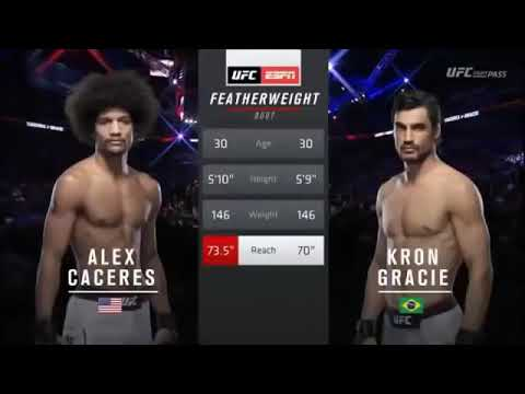 Kron GRACIE  VS ALEX CÁCERES