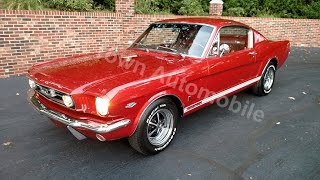 1966 Mustang Fastback in Emberglo for sale Old Town Automobile in Maryland