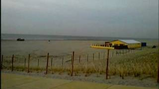 Nieuwe duinenrij bij Strand Monster 18 maart 2010