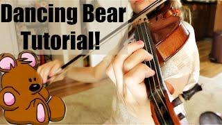 Dancing Bear Fiddle Tutorial -- A Bob McQuillen Tune!