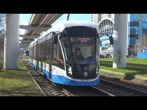 Запуск новых трамваев