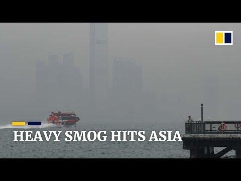 From Seoul to Bangkok, unhealthy smog hits Asian cities