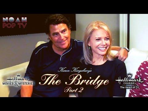 Faith Ford & Ted McGinley interview | The Bridge Part 2 - Hallmark Channel Original Movie