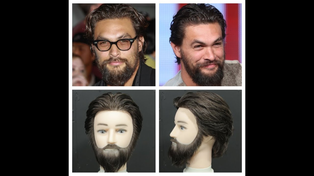 Jason Momoa Haircut & Beard Tutorial