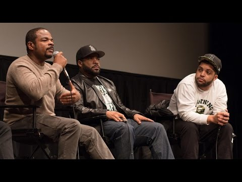 Ice Cube, F. Gary Gray, and O'Shea Jackson Jr.  Straight Outta Compton' Q&A