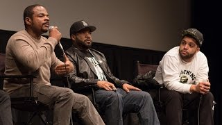 Ice Cube, F. Gary Gray, And O'Shea Jackson Jr. | Straight Outta Compton' Q&A