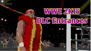WWE 2K15 | All DLC Entrances (Xbox One)