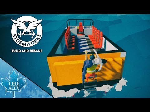 Stormworks: Build and Rescue #1 - The Rescue Cigar -