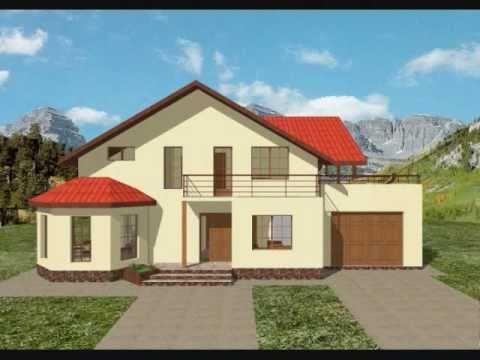 Proiect casa monica proiecte case cu mansarda youtube for Youtube case cu mansarda