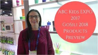 New! GoSili sippy cups and coffee mug - ABC Kids Expo 2017