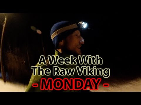 Raw Viking - One Week of Daily Life with a Scandinavian Fruitarian - Monday