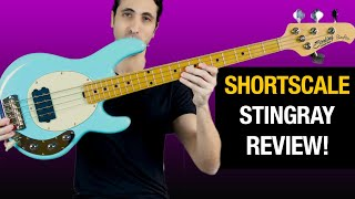 SHORTSCALE Stingray Bass! - Review and Demo