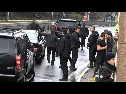 Cumhurbaşkanı Erdoğan'ın Konvoyunu 2 Kez Durdurdular