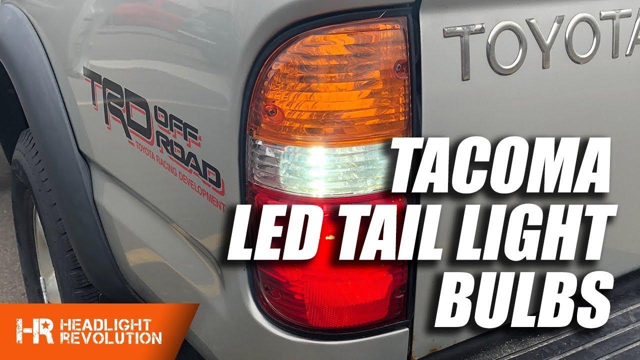 Toyota Tacoma 01 04 Led Tail Light Bulb Upgrades Turn Signal Motorcycle Flasher Relay Wiring Diagram Reverse Brake