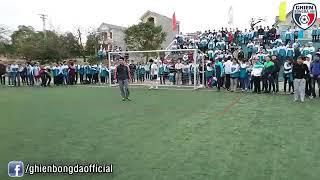 Chết cười với loạt sút penalty chung kết học sinh cấp 3
