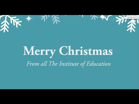 The Institute of Education Christmas Concert 2017