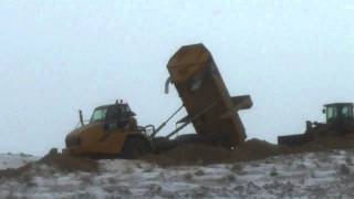 Cat 740 Articulated Dump Truck