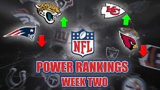 NFL Power Rankings | Week Two Reactions