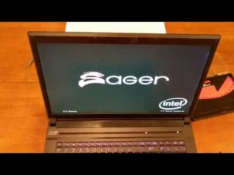 Laptop Screen Replacement / How To Replace Laptop Screen Clevo P170SM