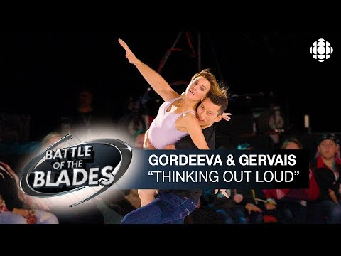 Ekaterina Gordeeva And Bruno Gervais Perform To 'Thinking Out Loud' | Battle Of The Blades