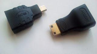 переходники HDMI to Mini HDMI + HDMI to Micro HDMI для teclast x80 plus с сайта aliexpress(, 2016-07-18T08:01:07.000Z)