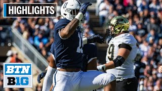 Season Highlights: Parson Named 1st Team All-American | Penn State | B1G Football