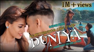Duniyaa  Luka Chuppi  Heart Touching Love Story  New Hindi Video Song 2019  Sawan Films