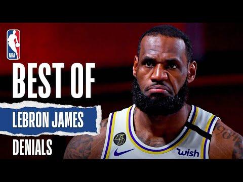 LeBron James' BEST Career Denials!