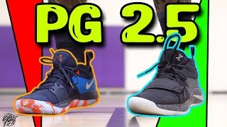 Nike PG 2.5 Performance Review! + PG 2 Comparison! Is it Better?!