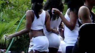 Atlanta Black Pride Wet T-shirt turned booty shakin' Contest